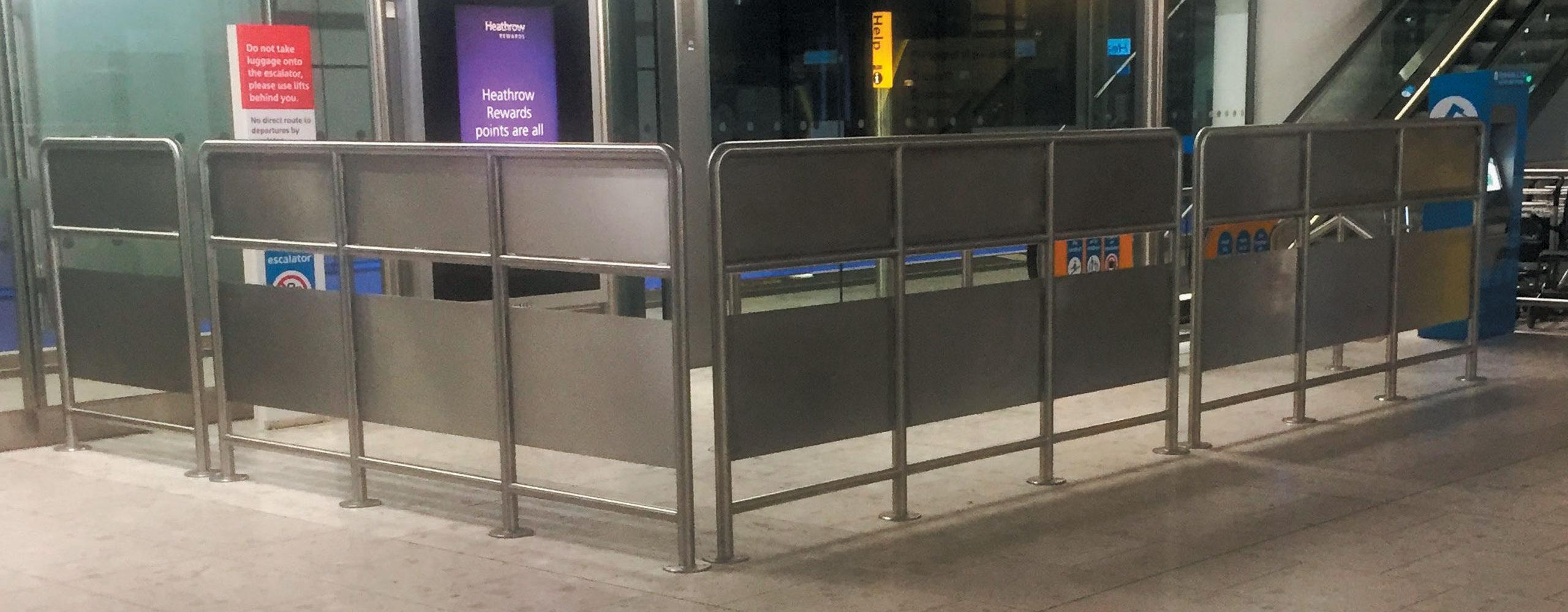 Heathrow Barriers
