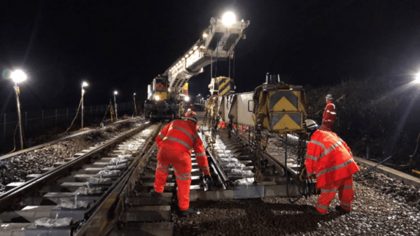 Felixstowe - Installation and signalling commissioning