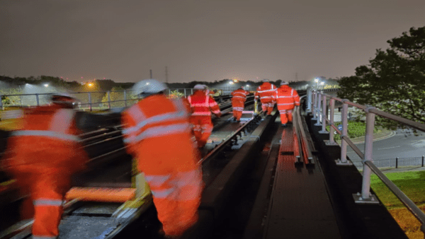 Docklands Light Railway Midweek Nights Campaign re-railing (Engineering Hours Only)