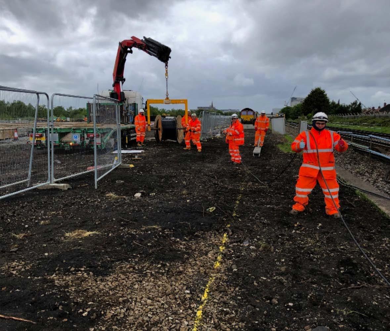 Feltham Depot Mainline Rail Telecoms