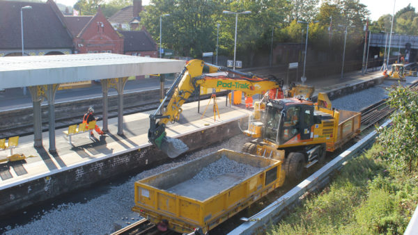 Birkenhead North - Rail track renewal