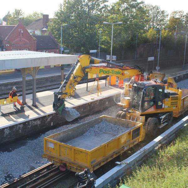 Birkenhead North - Rail track renewal