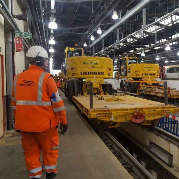 Bounds Green maintenance depot